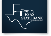 Texas State Bank Logo